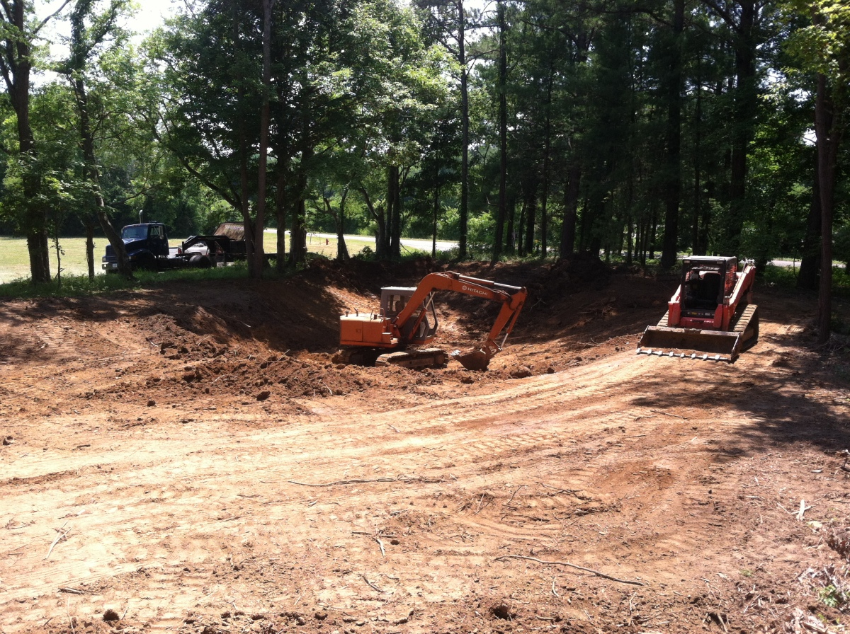 Landscaping Amp Grading Projects